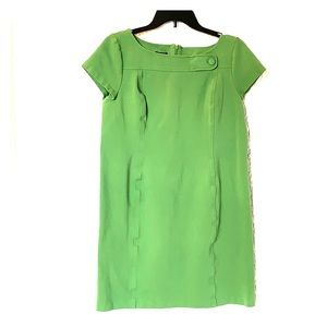Talbots green dress